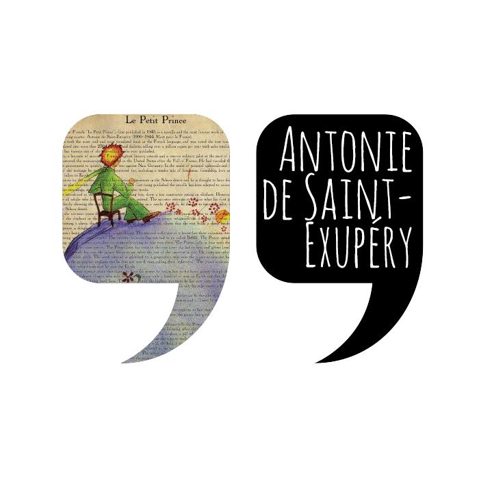 Citazione by Antonie de Saint-Exupéry