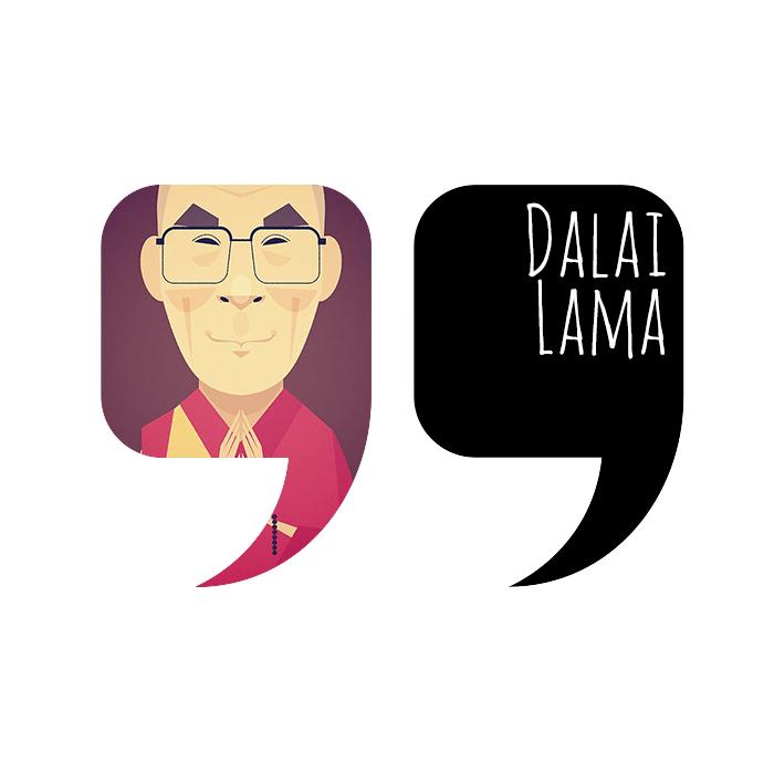 Quote by Dalai Lama