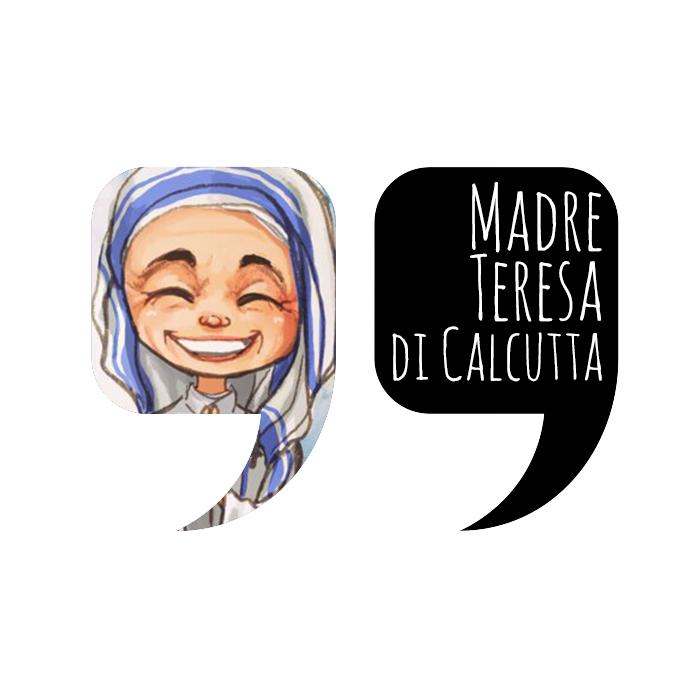 Citazione by Madre Teresa di Calcutta